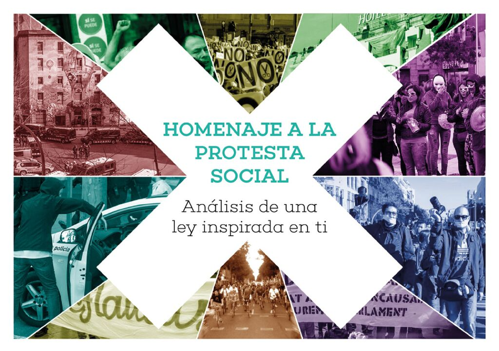 Julio 2015. Homenaje a la protesta social