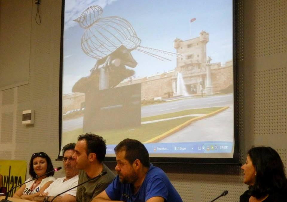 Organizamos la Mesa de la Represión en Cádiz
